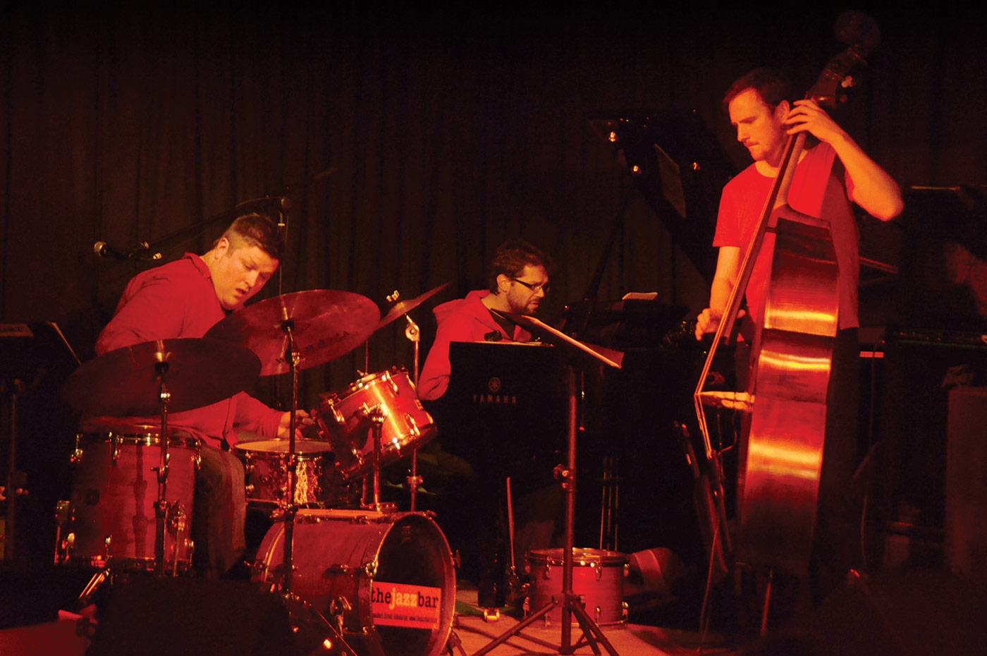 Photo of Trio Red performing